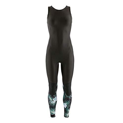 Patagonia W's R1 Lite Yulex Long Jane Neoprenanzug für Damen M Palme/Schwarz (Bayou Palmetto Simple: Ink Black)