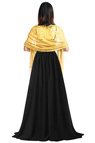 YAOMEI sjaals holle kant halsdoeken stola zomer omslagdoeken omslagdoeken halsdoek bruiloft bruid bruids avondgarderobe