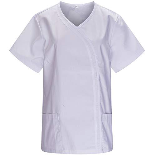MISEMIYA - Casaca Sanitarios Mujer Uniforme Laboral CLINICA Hospital Limpieza Veterinaria SANIDAD...