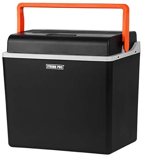 STREND PRO Kühlbox Elektrische für das Auto und Camping 30L, 12v / 230v, Kühlt und Wärmt-Funktion, Kompressor Kühlschrank/Kühltasche mit ECO Mode, Ideal für Camping und Travel-geräuscharm und leicht