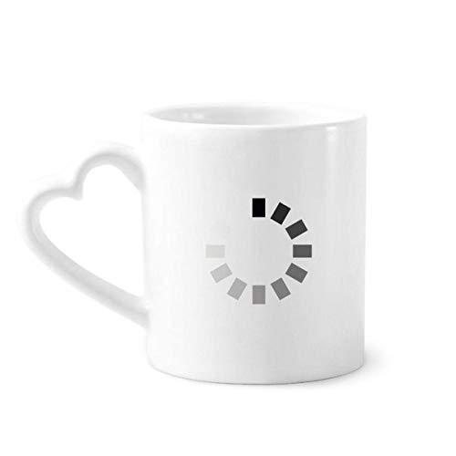 DIYthinker Programmer Programma Interface Laden Koffie Mokken Aardewerk Keramische Beker Met Hart Handvat 12oz Gift