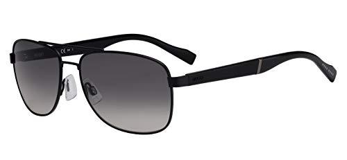 HUGO HG 0133/S Gafas de Sol, Adultos Unisex, MTT Black (Multicolor), Talla única