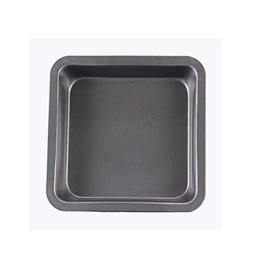 CHUN LING Starke quadratische hochwertige Antihaft-Kuchen-Backblech aus Kohlenstoffstahl, Backwerkzeug-Toastform, lebensmittelechte Silikonbeschichtung, verstärken die Kanten, einfach zu bedienen