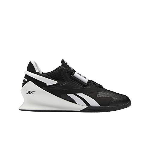 Reebok Legacy Lifter II, Zapatillas de Deporte para Mujer, Negro/Blanco/PUGRY6, 39 EU