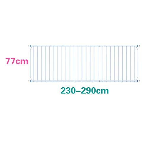 LWJJHJ Baby-Innenfenstersicherheitsgitter Kindersicherheits-Fenster Guards Stahl Baluster Gitterstäbe - Weiss (Size : 230-290cm)