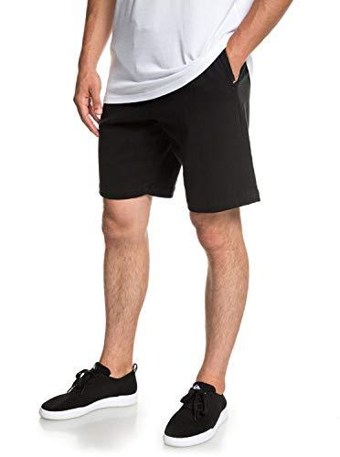 Quiksilver Twist of Shadows Walk Shorts, Hombre, Black, M