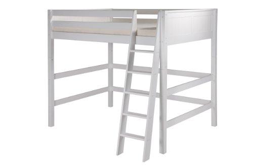 Camaflexi Loft Bed, Full, White