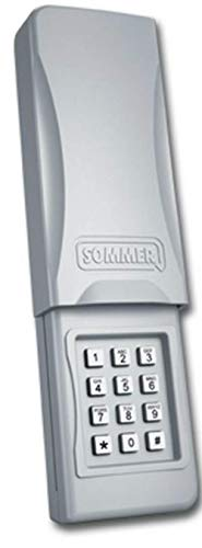 Best Bargain Sommer 4078V003 Wireless Keypad Keyless Entry Garage Door Opener 310 MHz