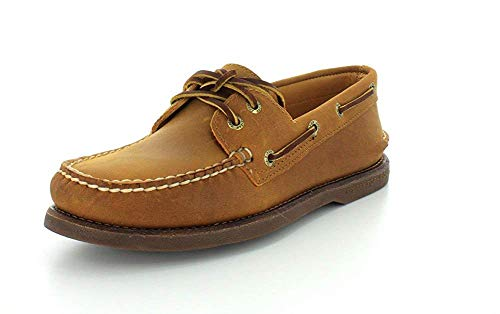 Sperry Men's Gold a/O 2-Eye Boat Shoes, 8 US Multi Size: 11.5