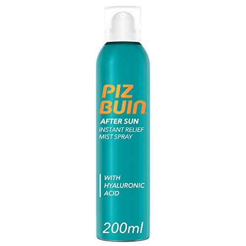 Piz Buin, Spray Doposole Sollievo Immediato, After Sun, Assorbimento Rapido, Rinfresca e Lenisce, 200ml