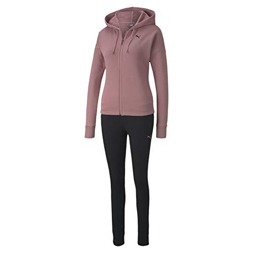 PUMA Damen Classic Hd. Sweat Suit FL cl Trainingsanzug, Foxglove, S