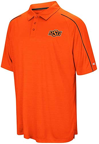 Oklahoma State Cowboys NCAA Setter Men's Performance Polo Shirt