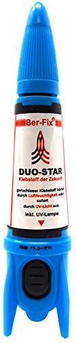 Ber-Fix® Duo Star Rakete   dickflüssig 500-1000 Spezial UV Kleber   Ber-Fix® für jede Anwendung den richtigen Klebstoff