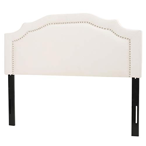Christopher Knight Home Bellagio Fabric Headboard, Queen / Full, Ivory