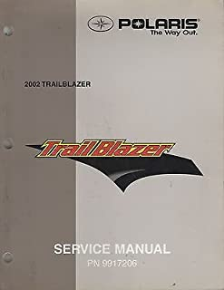 2002 POLARIS ATV TRAIL BLAZER SERVICE MANUAL P/N 9917206 (729)