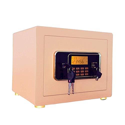WERCHW Caja de Seguridad Segura de Seguridad, Teclado Digital electrónico Seguro con LED para Oficina en casa Hotel de Negocios Joyería de Joyería Cash Storage Seguridad Digital Seguro