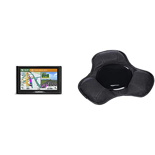 Garmin Drive 51 USA LM GPS Navigator System & AmazonBasics GPS Car Dashboard Mount Holder for Garmin, Tomtom, Magellan and Other Portable GPS Navigators