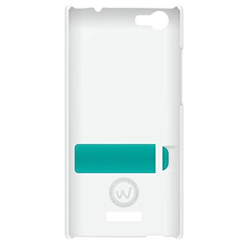 Wiko 94660 - Funda para Wiko Ridge 4G Fab, Color Blanco