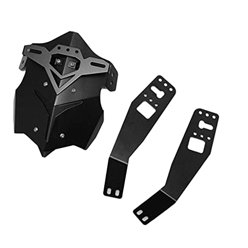 Motorcycle Tire fender Motorcycle Rear Wheel Mudguard Anti-Splash Guard Protector Cover With Bracket Replacement For Grom MSX125 (Color : Black)