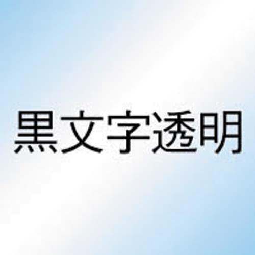 カシオ ネームランド 透明テープ 46mm 黒文字 3個入