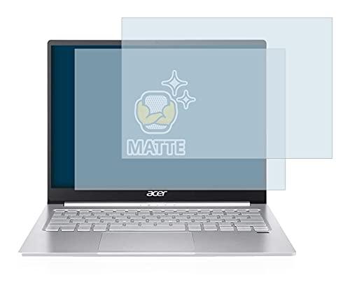 BROTECT 2X Entspiegelungs-Schutzfolie kompatibel mit Acer Swift 3 SF313-53 Bildschirmschutz-Folie Matt, Anti-Reflex, Anti-Fingerprint
