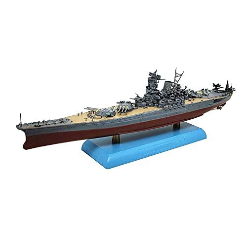 CMO Portaaviones Maqueta, Acorazado Yamato Japón Escala 1/1000, Juguetes para Adultos, 10,3 X 1,5 Pulgadas
