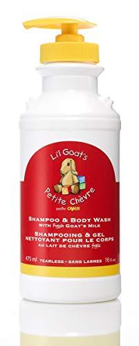 Goat milk shampoo and body wash