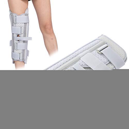 Férula Rodillera Inmovilizadora Rodillera para Rótula Soporte Ajustable Estabilizadora Articular Fijación Estabilización Fractura Lesiones