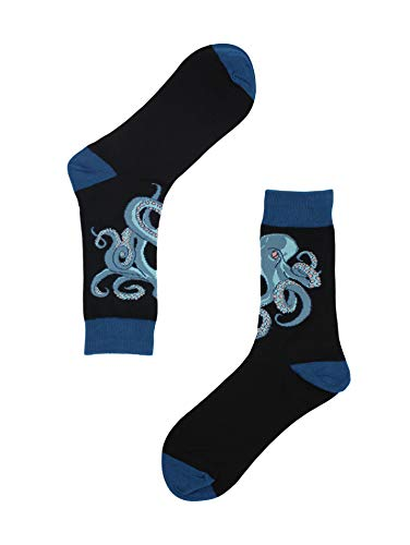 Angry Octopus Socks