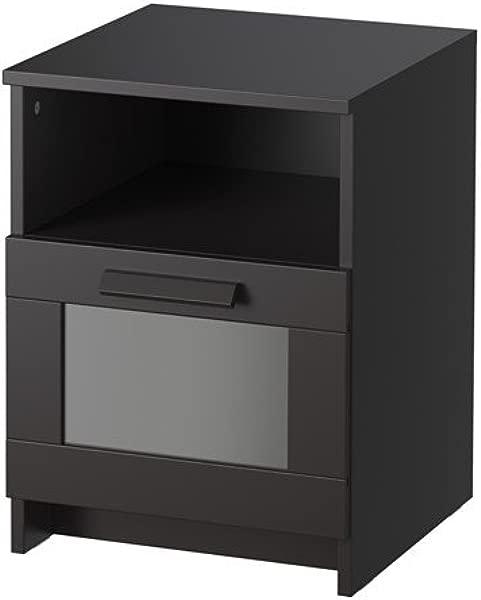 Ikea Nightstand Black 34214 14214 1210