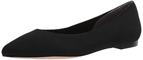 CC Corso Como Women's Julia Knit Ballet Flat, Black, 7.5 M US