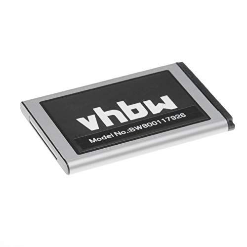 vhbw Li-Ion Akku 950mAh (3.7V) passend für Handy Smartphone Telefon Samsung GT-C3222, GT-C3310, GT-C3322, GT-C3500, GT-C3510, GT-C3530, GT-C3780