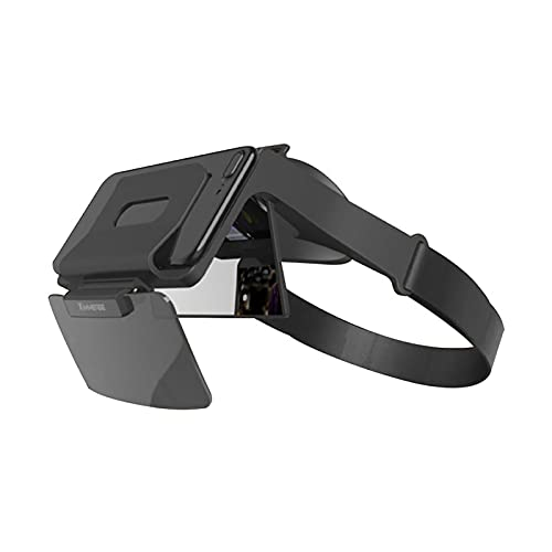 CYLZRCl Gafas Realidad Aumentada Gafas Realidad Virtual Casco Montado Cabeza Gafas Realidad Virtual Artefacto Comer Pollo Super Claro 4K Película TV Móvil del Juego (Color : VR)