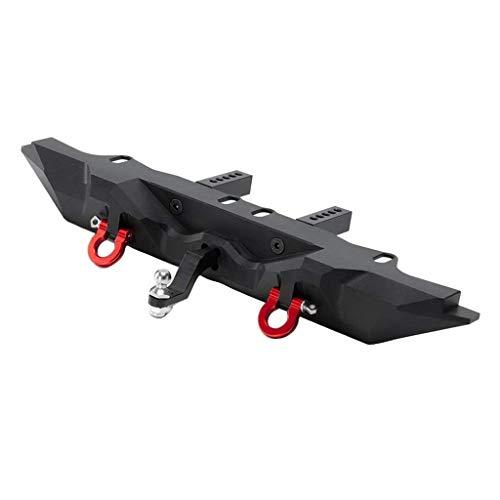 1/10 RC parachoques trasero de metal con gancho de remolque para piezas axiales SCX10 90046 TRX4
