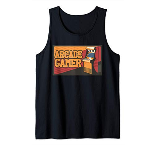 Arcade Gaming Retro Controller Game Over Play Konsolenspiele Tank Top