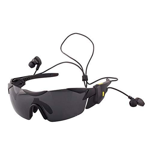 Yangmanini Bluetooth Gafas Deportivas Inteligentes V4.1 Hombres Y Mujeres Gafas De Sol Polarizadas Multifuncionales for Exteriores Gafas De Montar En Bicicleta