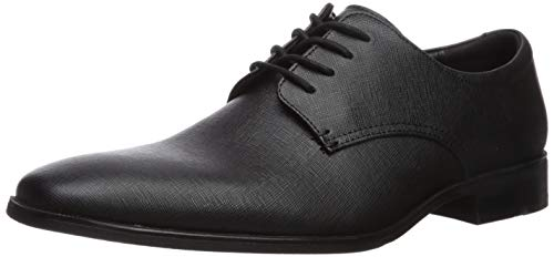 Calvin Klein Unisex Gunther Oxford, Black, 11.5 US Men