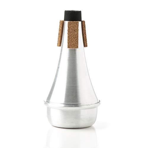 planuuik Draagbare Trompet Harmon Mute Sourdine Rechte Praktijk Beker Silencer Aluminium