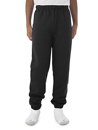 Jerzees 973B - Small - Black 8 oz 50/50 Youth Sweatpants