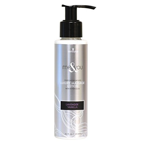 New - Me &Amp; You Massage Lotion Lavender Vanilla 4.2Oz Sensuva