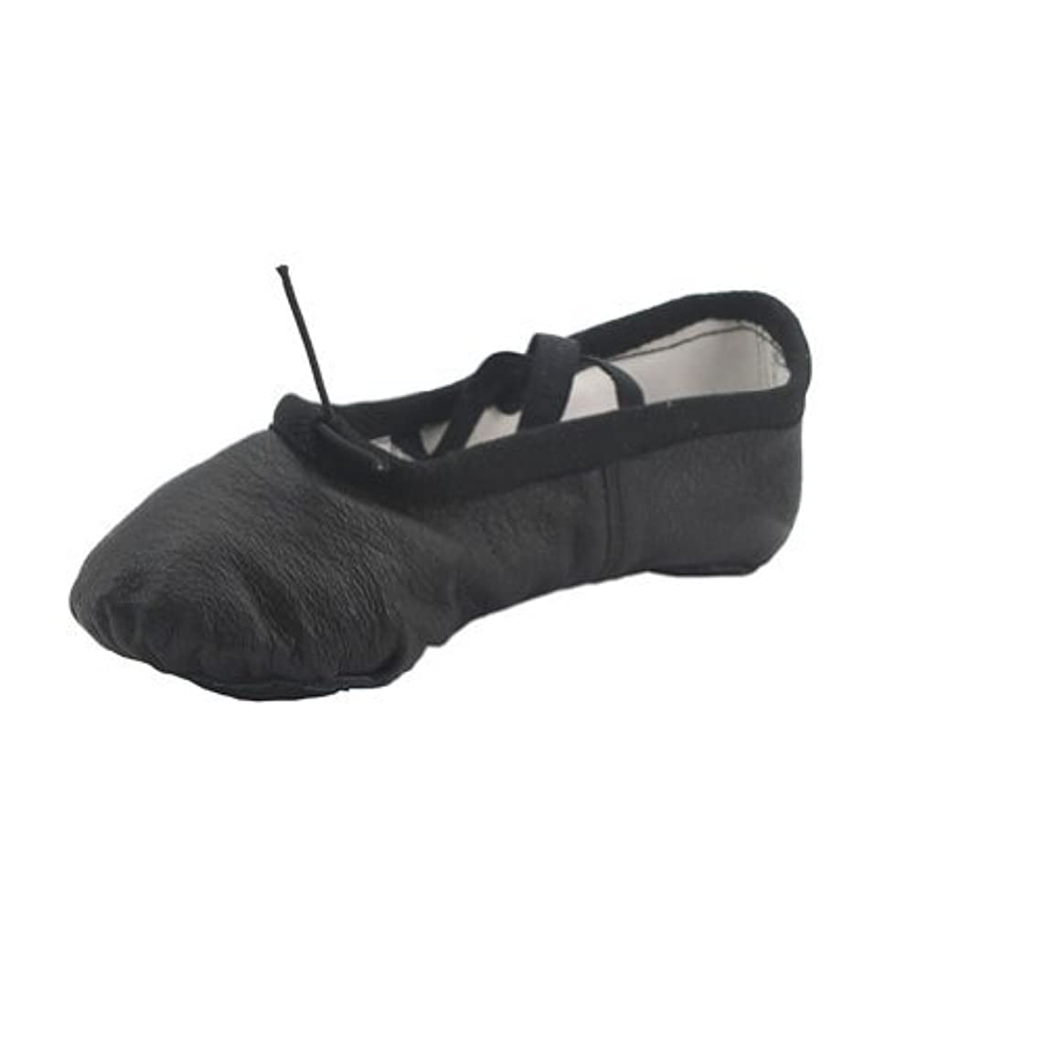 Kid Girl's Classic Leather Practise Ballet Dancing Yoga Shoes