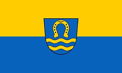 Unbekannt magFlags Tisch-Fahne/Tisch-Flagge: Lehrensteinsfeld 15x25cm inkl. Tisch-Ständer