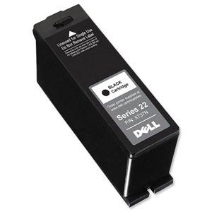 Dell No. X737N Series 22 Inkjet Cartridge High Capacity Page Life 360pp Black Ref 592-11391