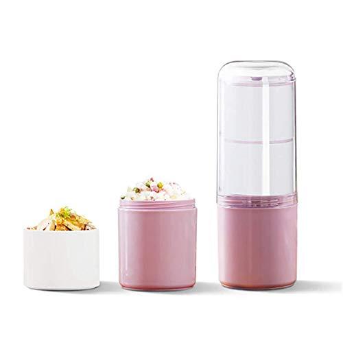 Lunch BoxLunch Box Contenitore per alimenti per forno a microonde, grande capacità e portatile (dimensioni: 24,5 x 8,5 cm; colore: verde)