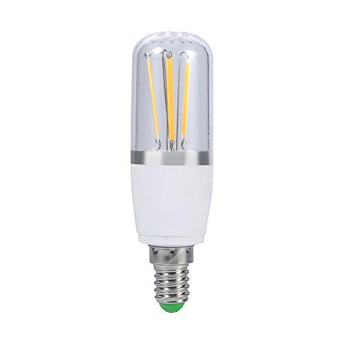 Ampoule à filament LED, 12V Culot à vis E14LED à économie d'énergie lumineuse Maison plafond Pendentif Lustre Ampoule Lampe de remplacement de style vintage