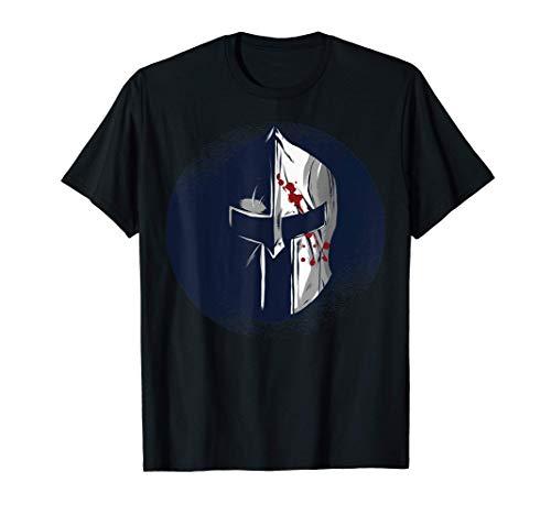 Disfraz de casco de guerrero espartano de Awesome Pride Camiseta