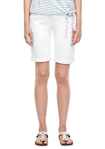 s.Oliver Damen 120.12.006.26.180.2040050 Shorts, White Denim Stretc, 42
