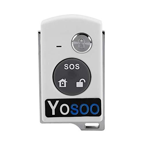 FOLOSAFENAR Sistema de Alarma para el hogar Tecnología inalámbrica de plástico ABS Alarma para el hogar Alarma antirrobo Timbre, antirrobo