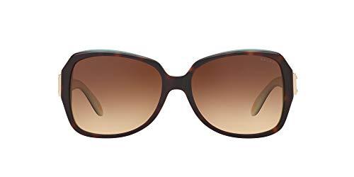 Ralph Lauren Ralph by Damen 0Ra5138 601/13 58 Sonnenbrille, Türkis (Tortoise/Turquoise/Brown Gradient)