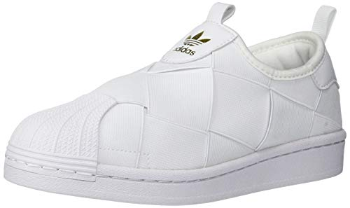 adidas Originals Superstar Slip on - Zapatillas de Deporte para Mujer, Color Negro/Blanco, Color, Talla 40 2/3 EU
